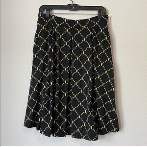 NWT LulaRoe Disney black yellow midi skirt medium